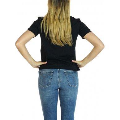 CALVIN KLEIN JEANS moteriški ekologiškos medvilnės marškinėliai 3