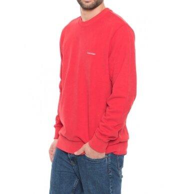 CALVIN KLEIN vyriškas džemperis iš ekologiškos medvilnės 2