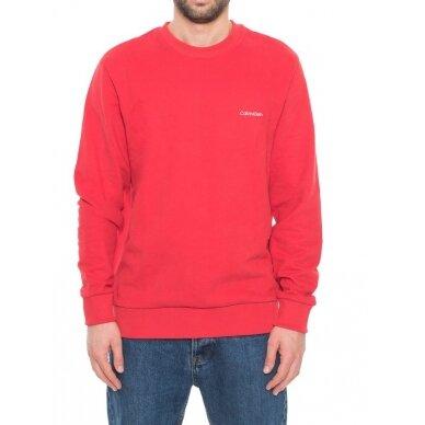 CALVIN KLEIN vyriškas džemperis iš ekologiškos medvilnės