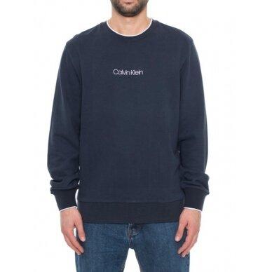 CALVIN KLEIN vyriškas ekologiškos medvilnės džemperis