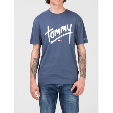 TOMMY JEANS vyriški marškinėliai 4
